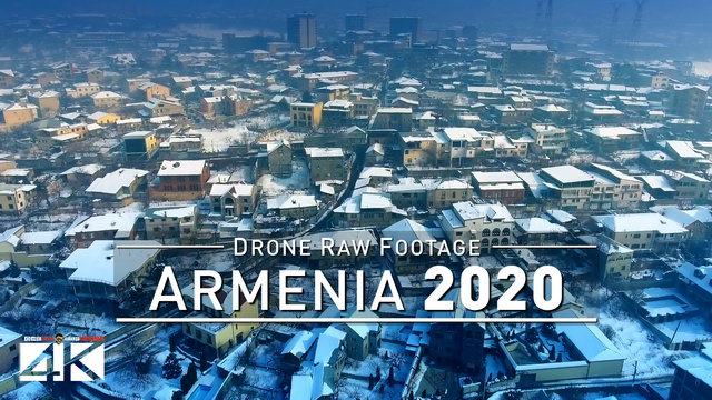 【4K】Drone RAW Footage | This is ARMENIA 2020 | Yerevan | Caucasus | UltraHD Stock Video
