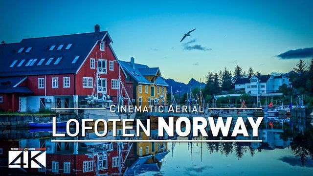 【4K】Drone Footage | LOFOTEN ..:: Aerial NORWAY 2018