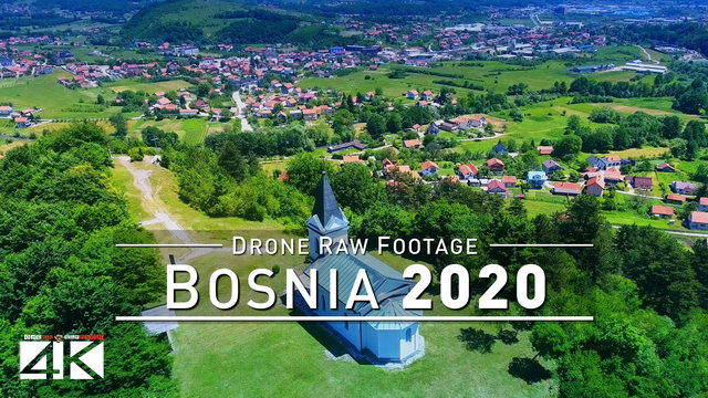 【4K】Drone RAW Footage | This is BOSNIA AND HERZEGOVINA 2020 | Sarajevo | UltraHD Stock Video