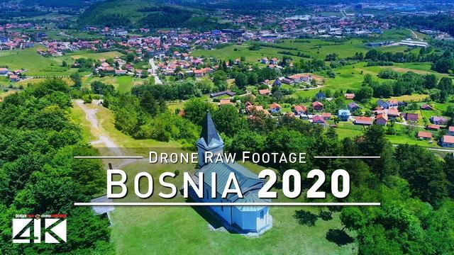 【4K】Drone RAW Footage | This is BOSNIA AND HERZEGOVINA 2020 | Sarajevo | UltraHD Stock Video