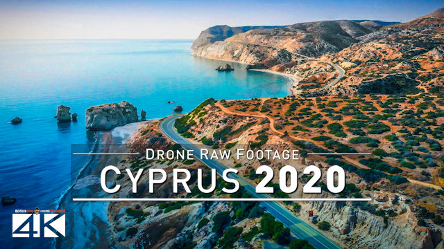 【4K】Drone RAW Footage | This is CYPRUS 2020 | The Beautiful Island | UltraHD Stock Video
