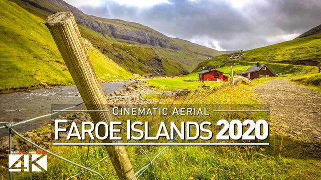 【4K】Drone Footage | FAROE ISLANDS ..:: Aerial Føroyar 2018