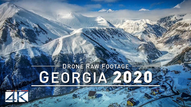 【4K】Drone RAW Footage | This is GEORGIA 2020 | Tbilisi | Batumi and More | UltraHD Stock Video