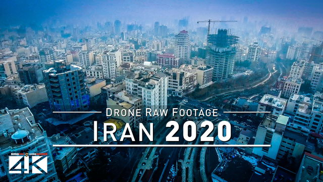 【4K】Drone RAW Footage | This is IRAN 2020 | Tehran | Tochal Ski Resort | UltraHD Stock Video