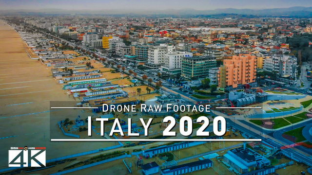 【4K】Drone RAW Footage | This is ITALY 2020 | Rimini | Milan | UltraHD Stock Video