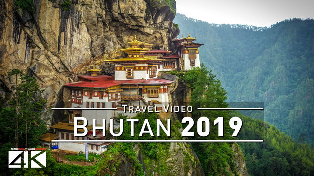 【4K】Footage | One week in BHUTAN ..:: The Kingdom of Happiness 2018