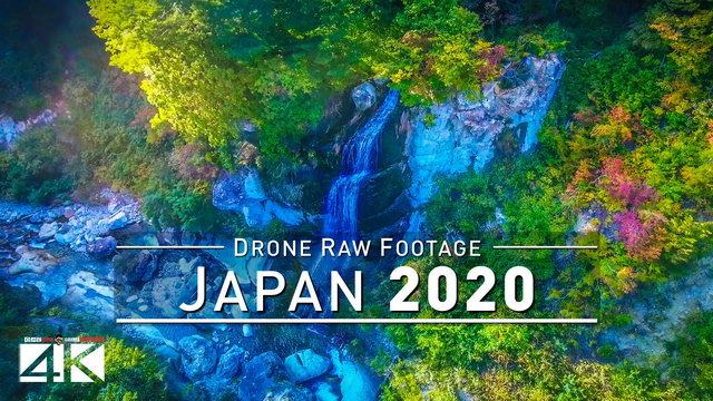 【4K】Drone RAW Footage | This is JAPAN 2020 | Kyoto | Mt. Zao and More | UltraHD Stock Video