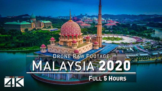 【4K】Drone RAW Footage | This is MALAYSIA 2020 | Penang | Langkawi | Putrajaya | UltraHD Stock Video