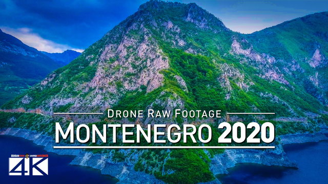 【4K】Drone RAW Footage | This is MONTENEGRO 2020 | Podgorica | Budva and More | UltraHD Stock Video