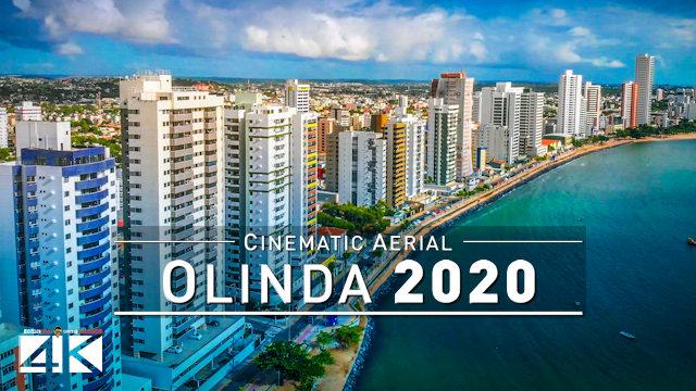【4K】Historic City of OLINDA from Above - BRAZIL 2020   Cinematic Aerial Film
