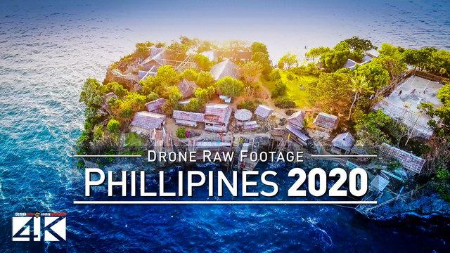 【4K】Drone RAW Footage | These are the PHILIPPINES 2020 | Boracay | Cebu City | UltraHD Stock Video