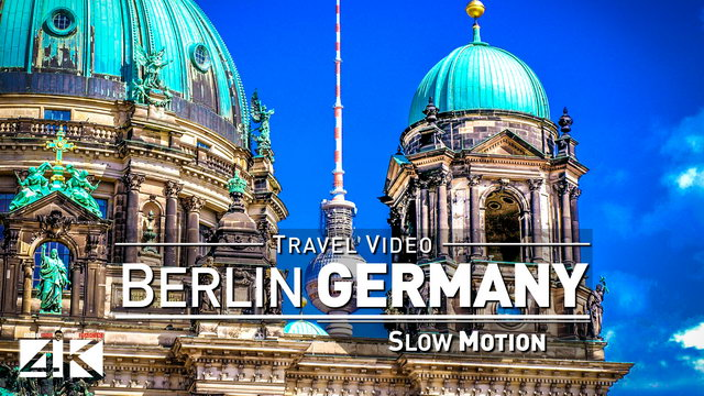 【Slow Motion】Footage | BERLIN ..:: Historical Capital 2018