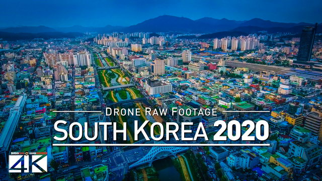 【4K】Drone RAW Footage | This is SOUTH KOREA 2020 | Seoul | Busan and More | UltraHD Stock Video