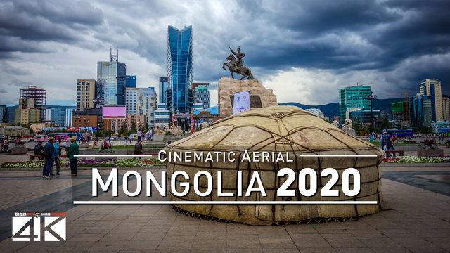 【4K】Drone Footage | MONGOLIA ..:: Aerial Ulan Bator 2019