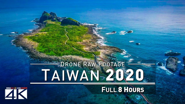 【4K】Drone RAW Footage | This is TAIWAN 2020 | Taroko Gorge | Sun Moon Lake and More | UltraHD Stock