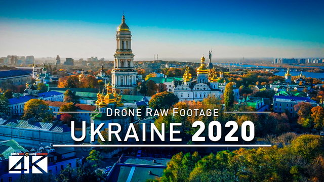 【4K】Drone RAW Footage | This is UKRAINE 2020 | Kyiv | Odessa | Black Sea | Kiev UltraHD Stock Video
