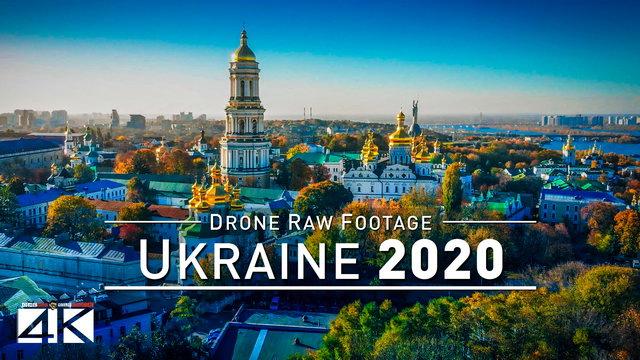 【4K】Drone RAW Footage | This is UKRAINE 2020 | Kyiv | Odessa | Black Sea | Kiev UltraHD Stock Video