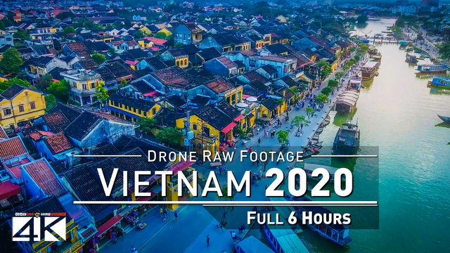 【4K】Drone RAW Footage | This is VIETNAM 2020 | Saigon | Halong | Da Nang & More UltraHD Stock Video