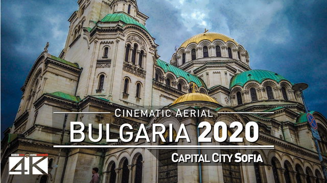 【4K】BULGARIA from Above 2020 | Capital City Sofia | Cinematic Aerial Film