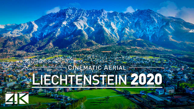 【4K】Stunning LIECHTENSTEIN 2020 from Above | Cinematic Wolf Aerial™ Drone Film | 541