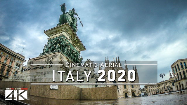 【4K】Northern ITALY from Above 2020 | Rimini | San Siro Milan | Cinematic Wolf Aerial™ Drone Film