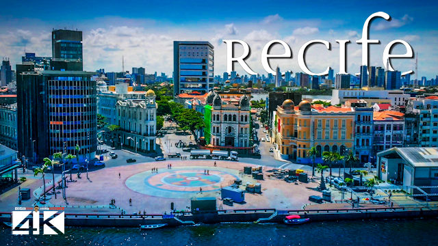【4K】Recife from Above - BRAZIL 2020 | Cinematic Wolf Aerial™
