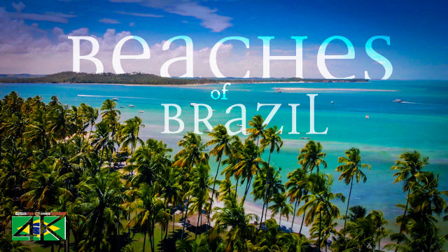 【4K】The Most Beautiful Beaches of BRAZIL 2020 | Cinematic Wolf Aerial™ Drone Film