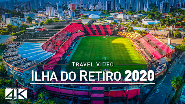 【4K】Estadio Ilha do Retiro from Above - BRAZIL 2020 | Cinematic Wolf Aerial™ Drone Film