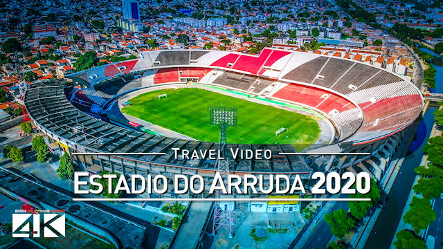 【4K】Estadio do Arruda from Above - BRAZIL 2020 | Cinematic Wolf Aerial™ Drone Film