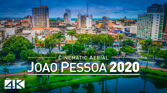 【4K】Joao Pessoa from Above - BRAZIL 2020 | Cinematic Wolf Aerial™ Drone Film