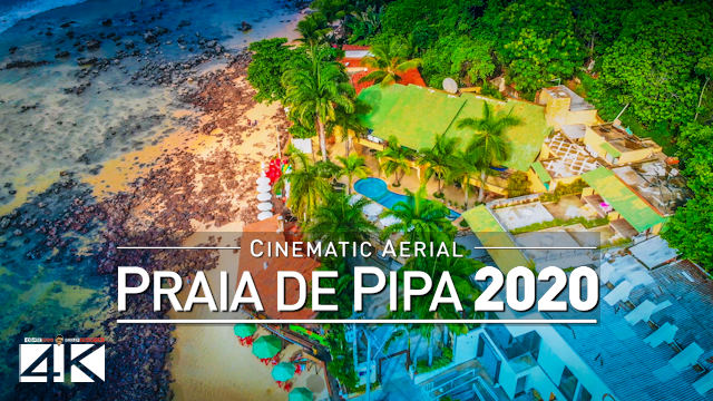 【4K】Praia de Pipa from Above - BRAZIL 2020 | Cinematic Wolf Aerial™ Drone Film