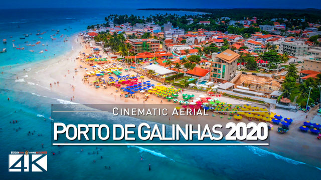 【4K】Porto de Galinhas from Above - BRAZIL 2020 | Cinematic Wolf Aerial™ Drone Film