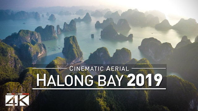 【4K】Drone Footage | HALONG BAY ..:: Vietnams Natural Wonder of the World 2019