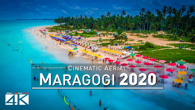 【4K】Maragogi from Above - BRAZIL 2020 | Cinematic Wolf Aerial™ Drone Film