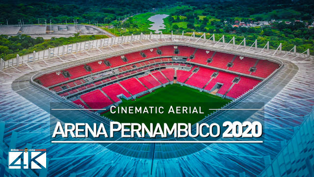 【4K】Arena de Pernambuco from Above - BRAZIL 2020 | Cinematic Wolf Aerial™ Drone Film