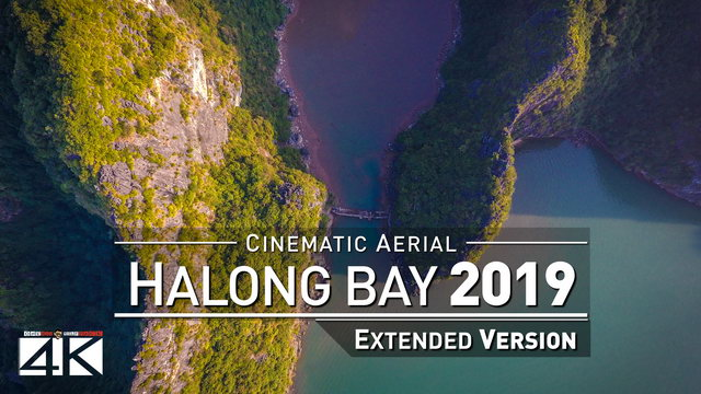 【4K】Drone Relax Travel Video | HALONG BAY ..:: Vietnams Natural Wonder of the World 2019