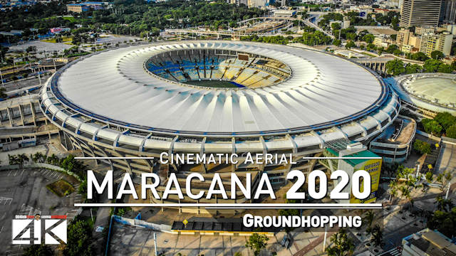 【4K】The Maracanã from Above - BRAZIL 2020 | Cinematic Wolf Aerial™ Drone Film