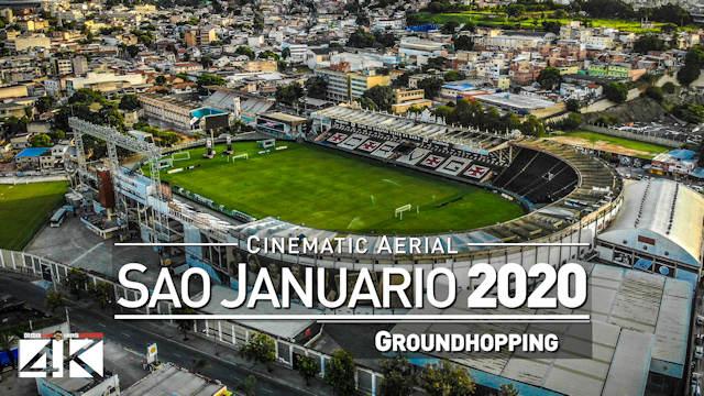 【4K】Estádio São Januário from Above - BRAZIL 2020 | Vasco da Gama Cinematic Wolf Aerial™ Drone Film