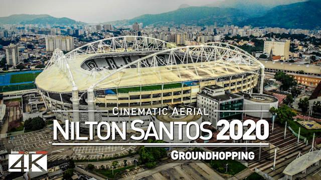 【4K】Estádio Olimpico Nilton Santos from Above - BRAZIL 2020 | Botafogo Cinematic Wolf Aerial™ Drone