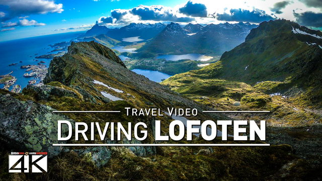 【4K】Footage | LOFOTEN ..:: Driving Through Beautiful Norway 2019 Dashcam
