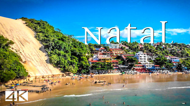 【4K】Natal from Above - BRAZIL 2020 | Cinematic Wolf Aerial™