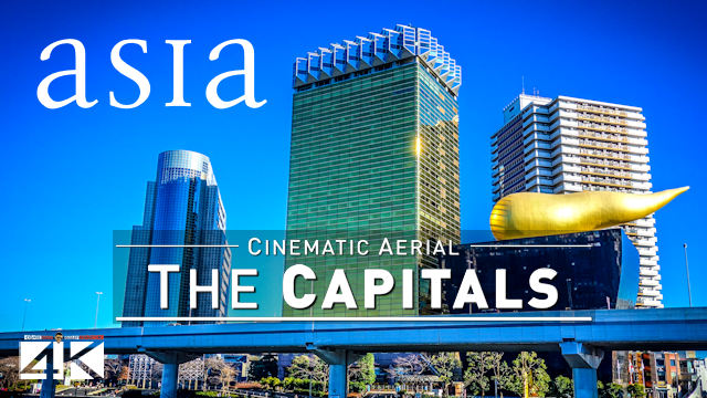 【4K】9 Capitals of ASIA from Above | Cinematic Wolf Aerial™ Drone Film