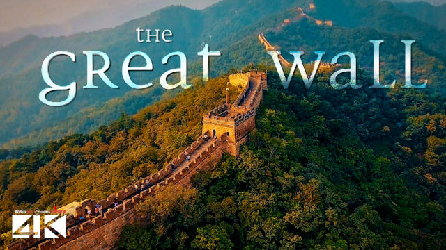 【4K】The Great Wall of China from Above 2020 | Cinematic Wolf Aerial™ Drone Film