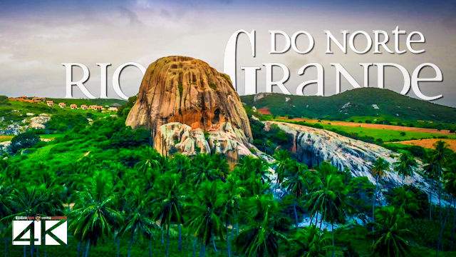 【4K】The Nature of Rio Grande do Norte from Above - BRAZIL 2020 | Cinematic Wolf Aerial™ Drone Film