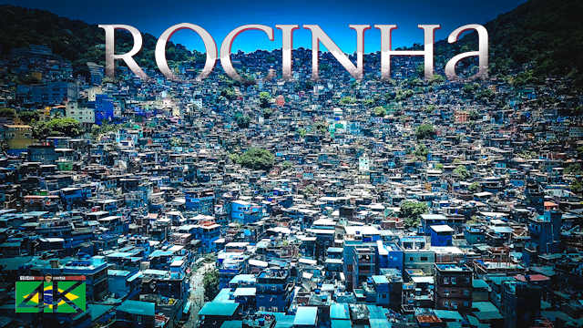 【4K】Rocinha from Above - BRAZIL 2020 | Cinematic Wolf Aerial™ Drone Film