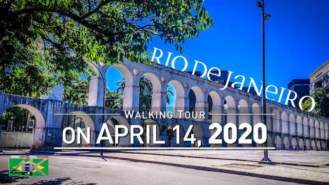 【4K】Virtual Walking Tour   LOCKDOWN Rio de Janeiro   Current Situation Corona Virus   2020-04-14 »