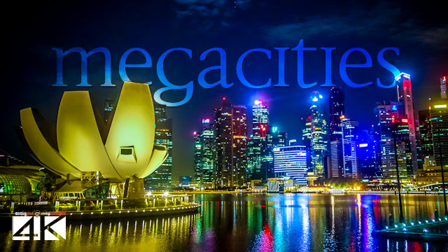【4K】88 MEGACITIES of the World 2020 | Cinematic Wolf Aerial™ Drone Film