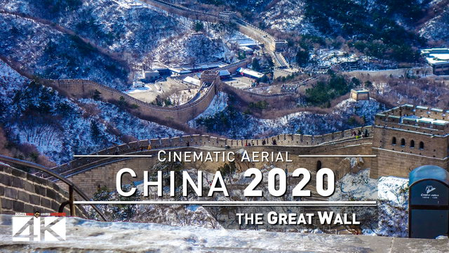 4K Drone Footage GREAT WALL OF CHINA in Mutianyu [DJI Phantom 4] | 6