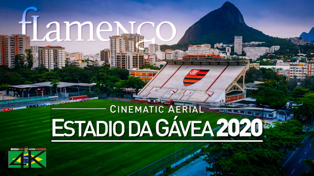 【4K】Estádio da Gávea from Above - BRAZIL 2020 | Flamengo | Cinematic Wolf Aerial™ Drone Film