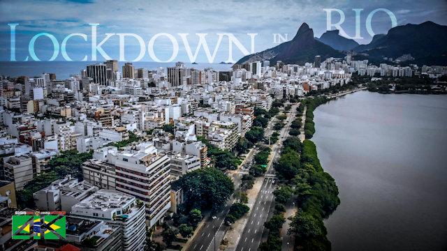 【4K】Lockdown in Rio de Janeiro - BRAZIL | April 19, 2020 | Cinematic Wolf Aerial™ Drone Film